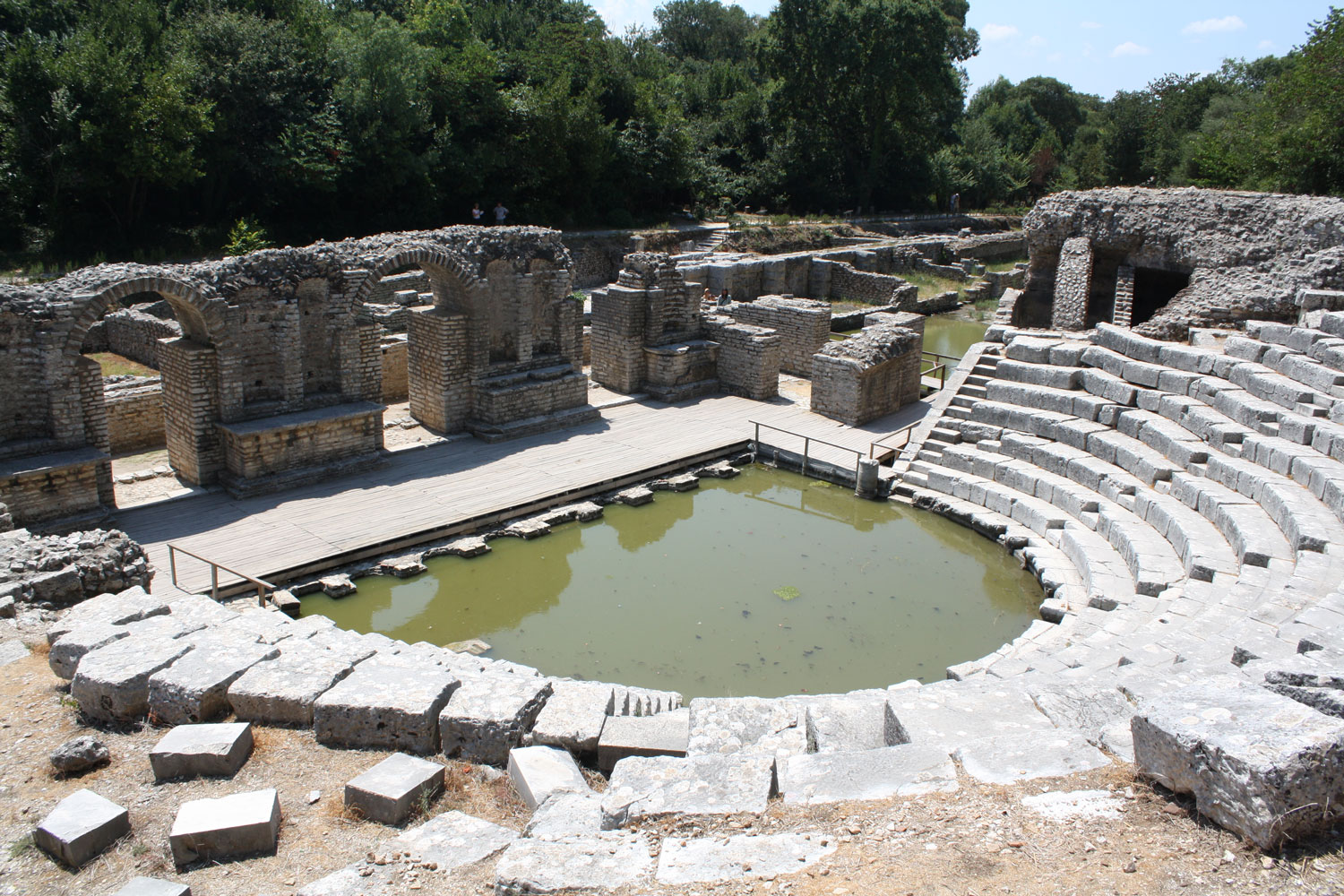 Butrint-Archaeological-site-Albania