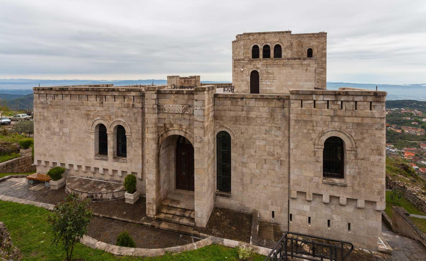 Skanderbeg-Museum-Kruja-Albania