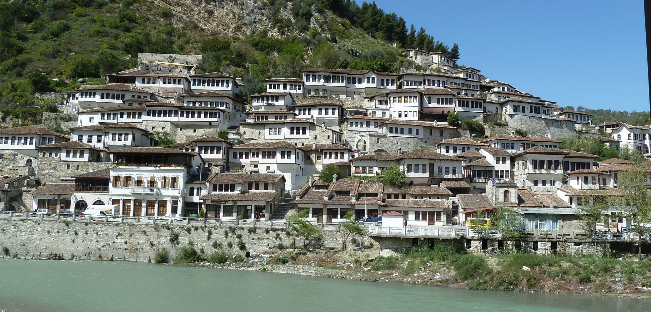 The-town-of Berat-Albania