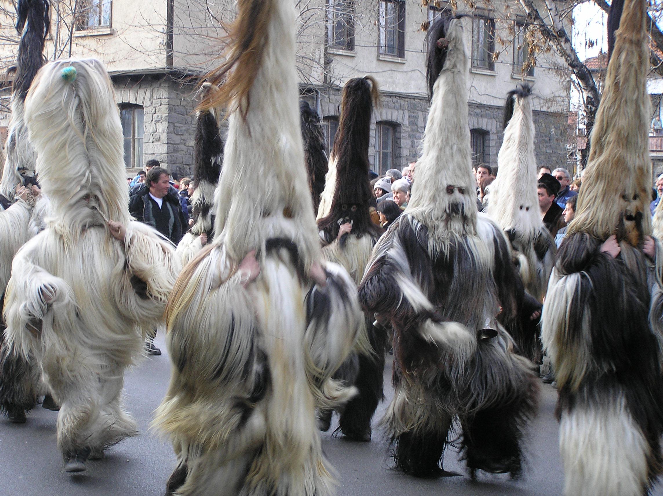 Kukeri-festival-Pernik-Bulgaria