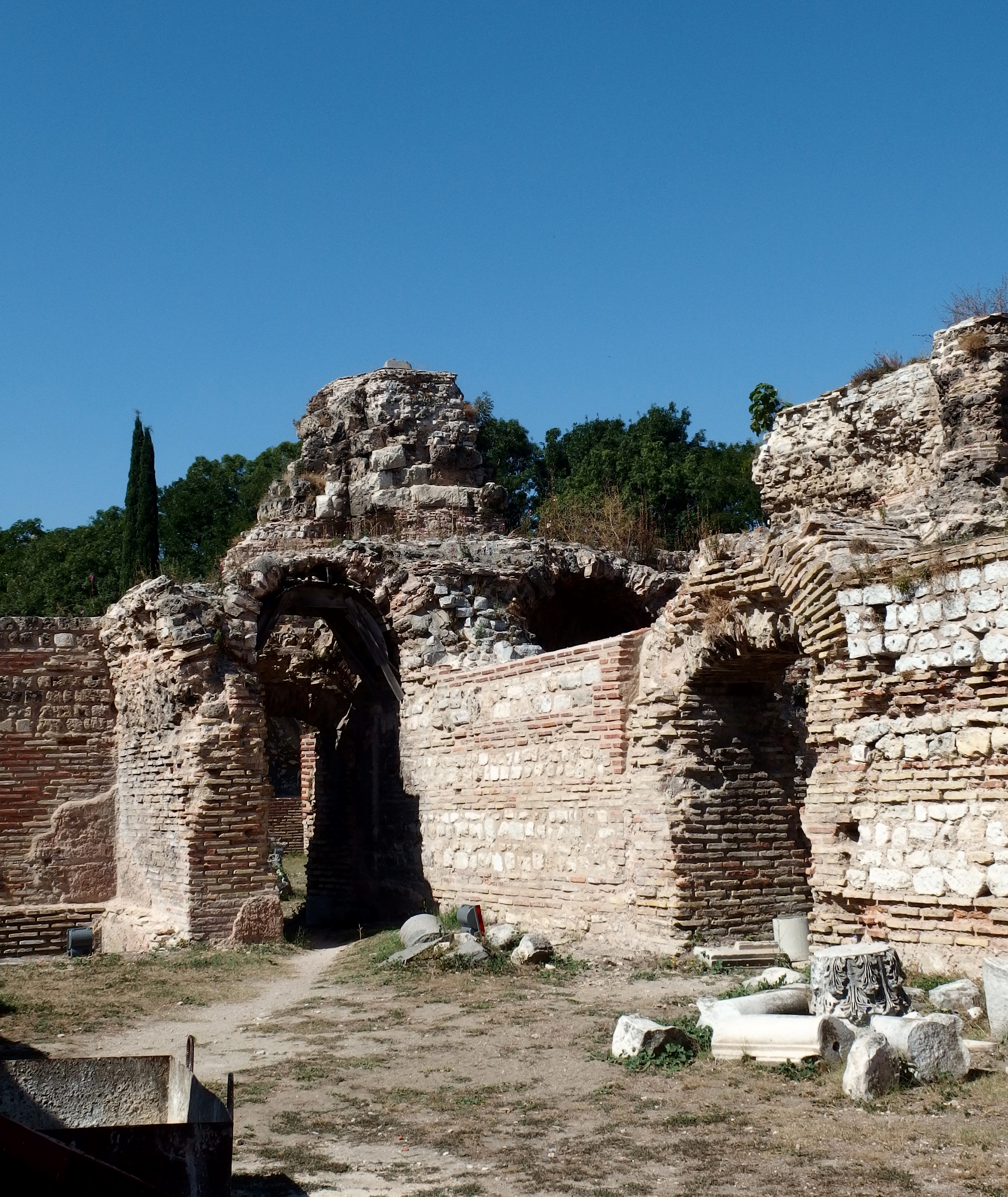 The-Roman Baths-in-Varna-Bulgaria