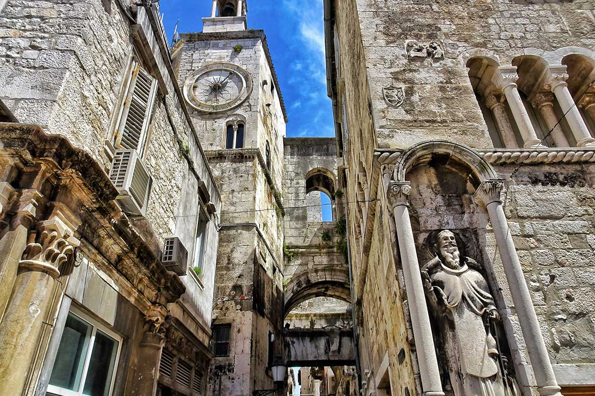 The-Diocletian-Palace-Split-Croatia