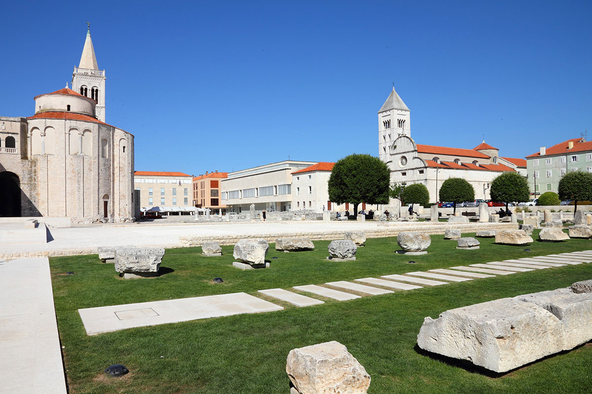 The-Roman-Forum-Zadar-Croatia