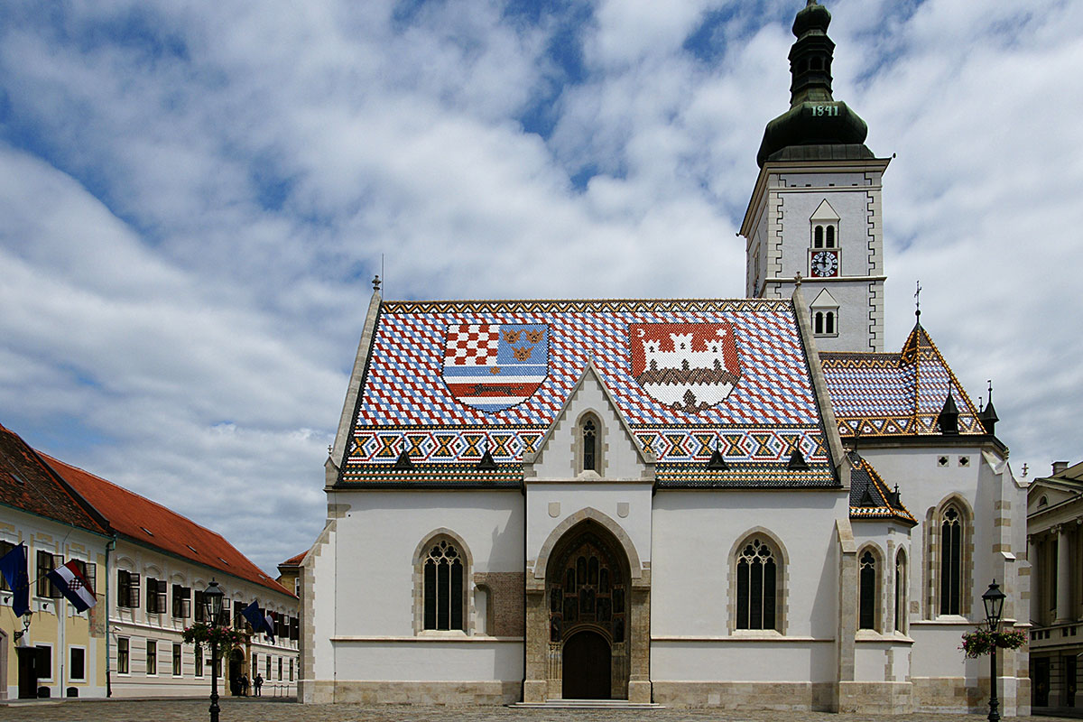 The-Church-of-St.-Mark-Zagreb-Croatia