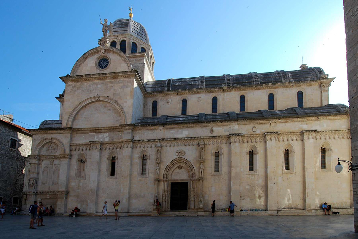The-Cathedral-of-St.-Jacob-Sibenik-Croatia