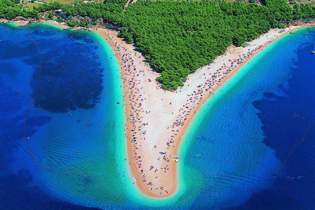 Bol-beach-on-the-island-of-Brach-Croatia