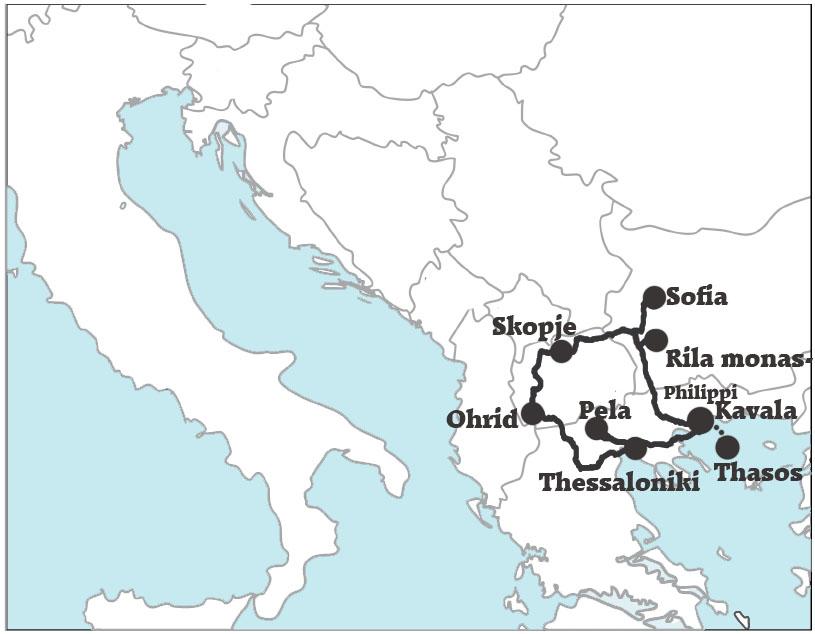 South-Balkan-tour-map